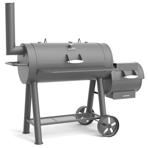 962 Square Offset Charcoal Smoker & Grill by Dyna-Glo