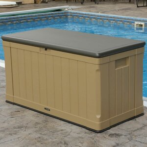 Outdoor Storage 116 Gallon Plastic Deck Box