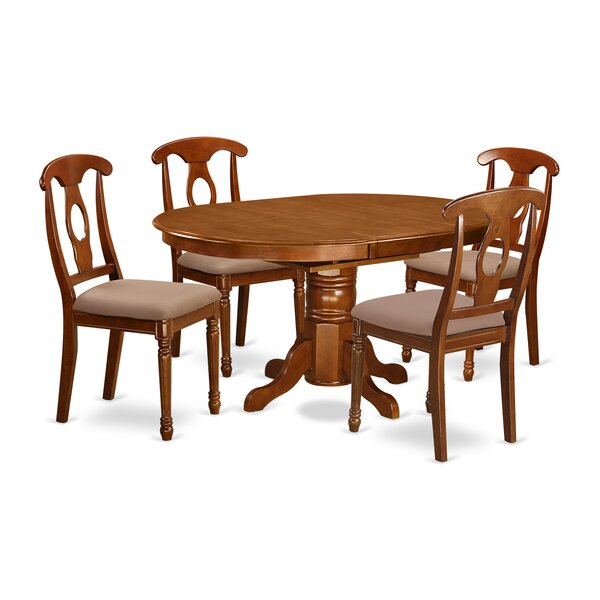 Spurling 5 Piece Extendable Dining Set by August Grove August Grove