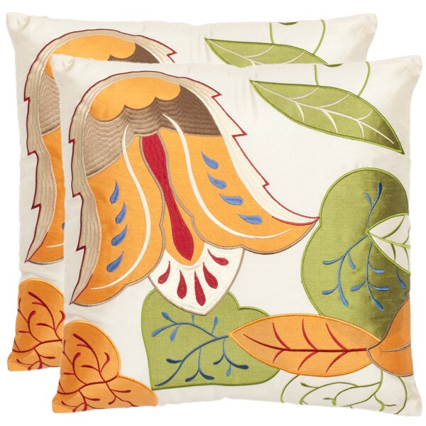 Abbot Throw Pillow (Set of 2) by Safavieh