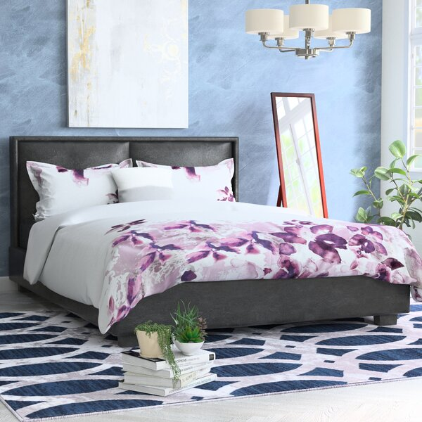 Perea Upholstered Platform Bed by Andover Mills