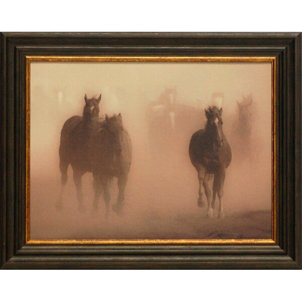 Ghost Horses by Crandall, Gary Framed Photographic Print by Artistic Reflections
