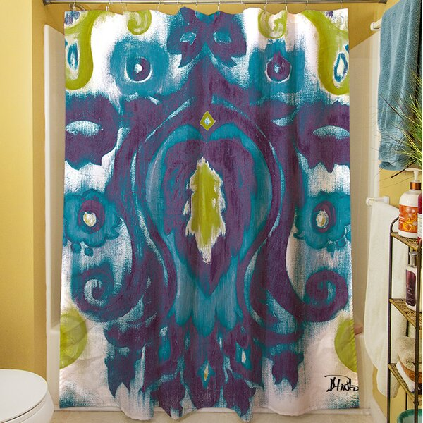 Radiant Transitions Shower Curtain by Manual Woodworkers & Weavers