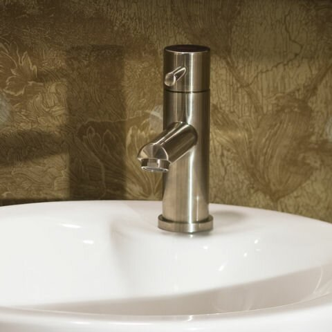 Serin Single Hole Bathroom Faucet with by American Standard