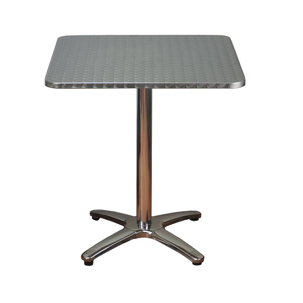 Square Aluminum Dining Table by DHC Furniture