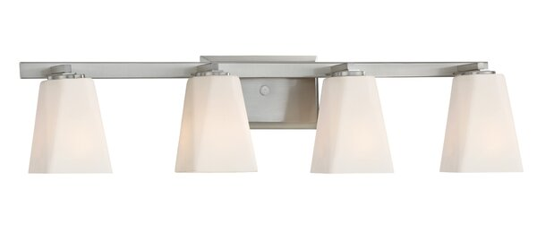 Cornerstone 4-Light Vanity Light by Designers Fountain