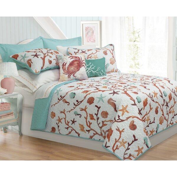 Avaline 5 Piece Modern Quilt Set by Beachcrest Home