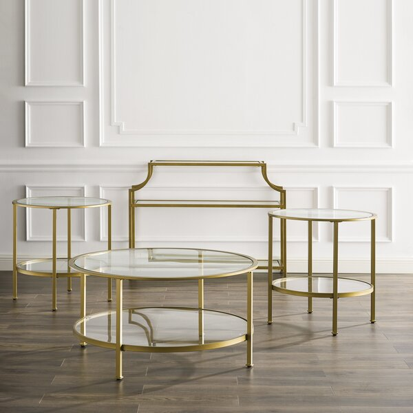 Legette 4 Piece Coffee Table Set By Everly Quinn