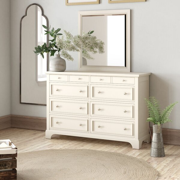 Barnard 8 Drawer Dresser With Mirror By Birch Lane™ Heritage by Birch Lane™ Heritage Cheap