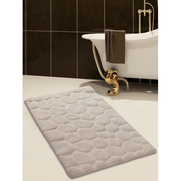 100% Soft Rectangle Cotton Blend piece Bath Rug Set