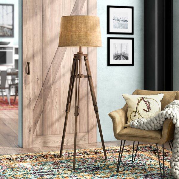 Ailis 62.25 Tripod Floor Lamp by Trent Austin Design