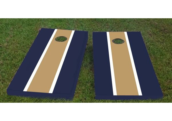 Notre Dame Cornhole Game (Set of 2) by Custom Cornhole Boards