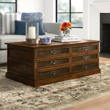 Treutlen Lift Top Block Coffee Table with Storage by Three Posts