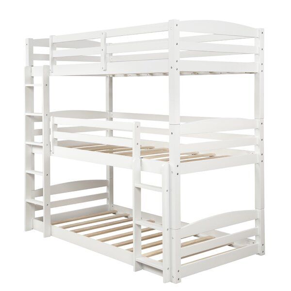 Bitton Twin over Twin over Twin Triple Bed by Isabelle & Max