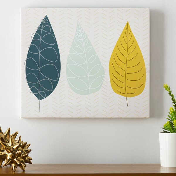 World of Leaves Wall Art on Canvas by Langley Street