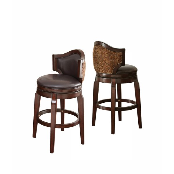 Dupo 30 Swivel Bar Stool (Set of 2) by Darby Home Co