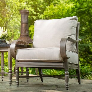 Blue Oak Patio Chair with Cushion By Blue Oak Outdoor