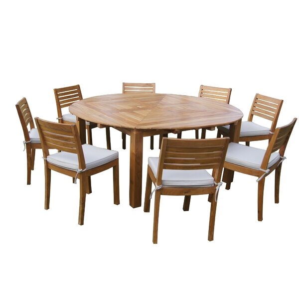 Sybilla Teak Dining Table by Longshore Tides