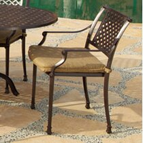 Sierre Patio Dining Chair with Cushion by Art Frame Direct