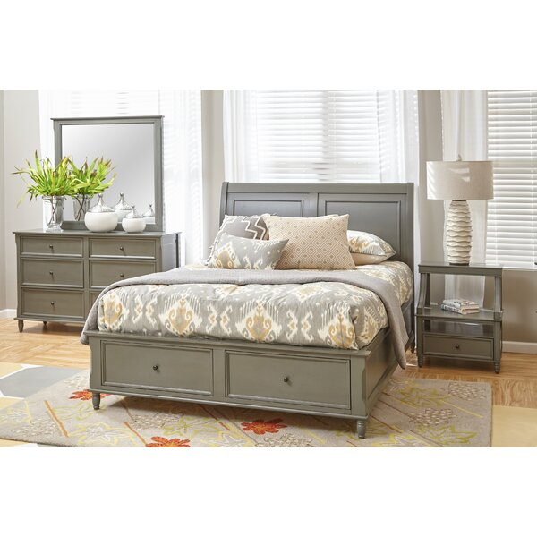 Beatrice Queen Platform Configurable Bedroom Set by Three Posts