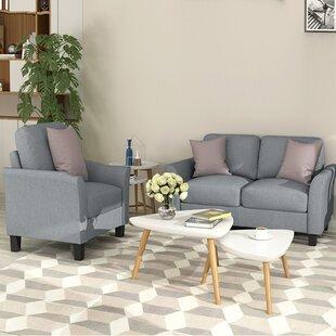 2 Piece Living Room Set by Red Barrel Studio®