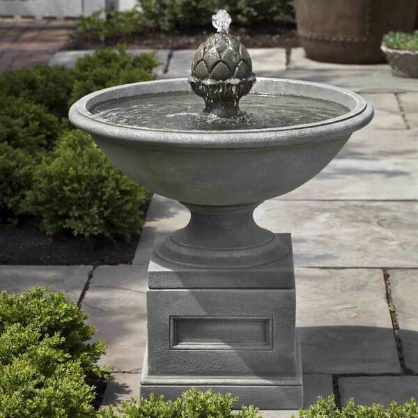 Williamsburg Concrete Chiswell Fountain by Campania International