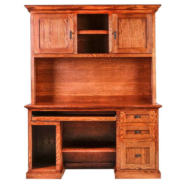 Torin Executive Desk with Hutch by Millwood Pines