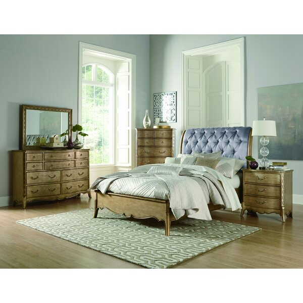 Bainbridge Upholstered Sleigh Bed by Astoria Grand