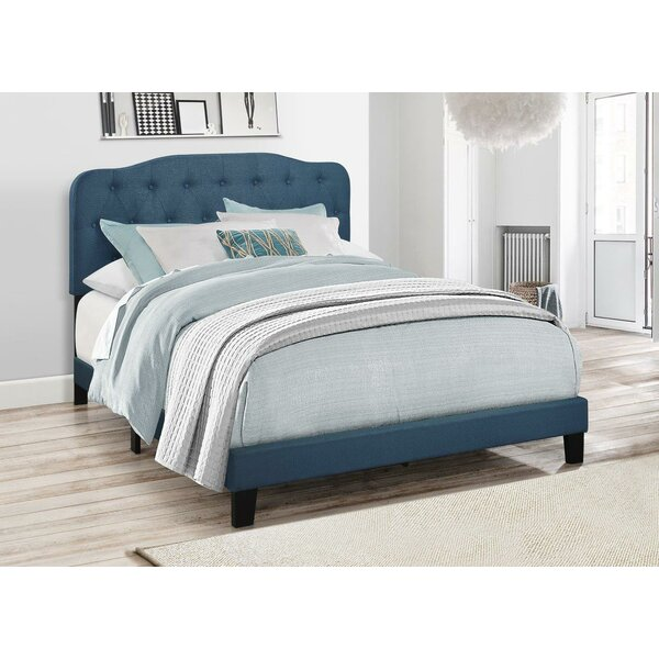 Keagan Upholstered Panel Bed by Charlton Home