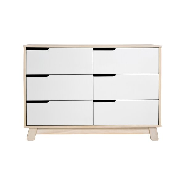 Hudson 6 Drawer Double Dresser by babyletto