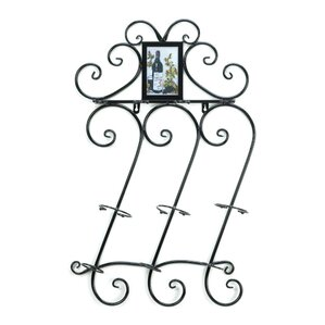 Flourish 3 Bottle Wall Mounted Wine Rack by Zingz & Thingz