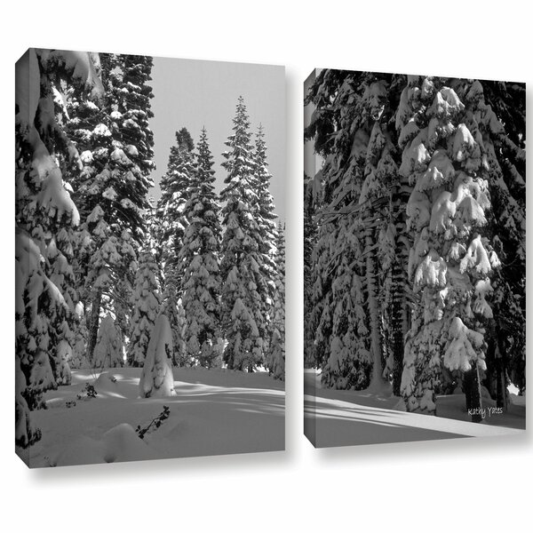 Solitude by Kathy Yates 2 Piece Photographic Print on Wrapped Canvas Set by ArtWall