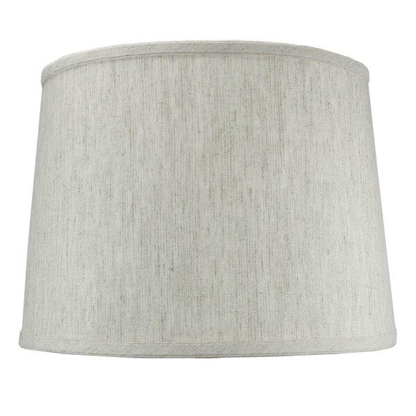 14 Shantung Drum Lamp Shade by Alcott Hill