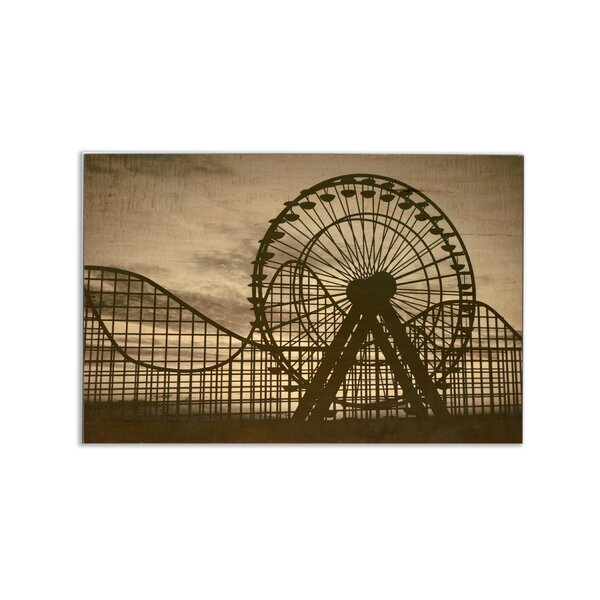 Thrill Park Dawn Photographic Print on Canvas by TrekDecor