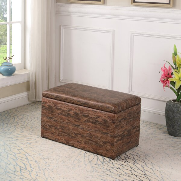 Avalon Pattern Storage Ottoman by Millwood Pines