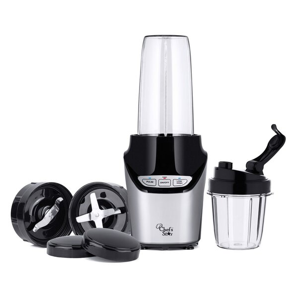 Nutri Extractor 8 Piece Personal Blender Set by Bell + Howell