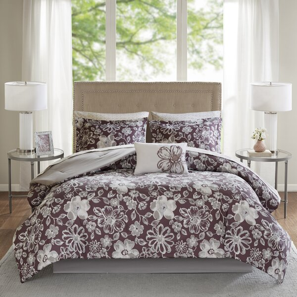 Timmins Complete Comforter and Cotton Sheet Set by Mistana