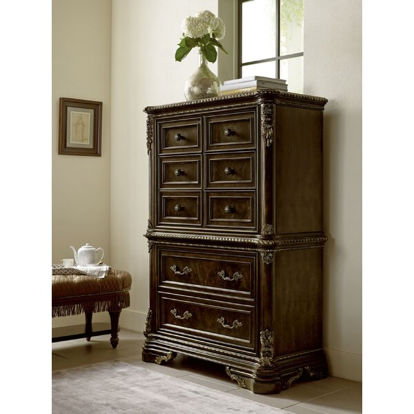 Hepburn 8 Drawer Standard Dresser/Chest By Astoria Grand by Astoria Grand Fresh