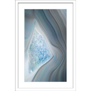 'Bermuda Triangle' Framed Painting Print by Marmont Hill