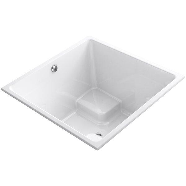 Underscore Vibracoustic 48 x 48 Soaking Bathtub by Kohler
