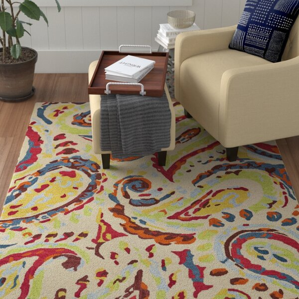 Sang Hand Tufted Eclipse Indoor/Outdoor Area Rug by Winston Porter