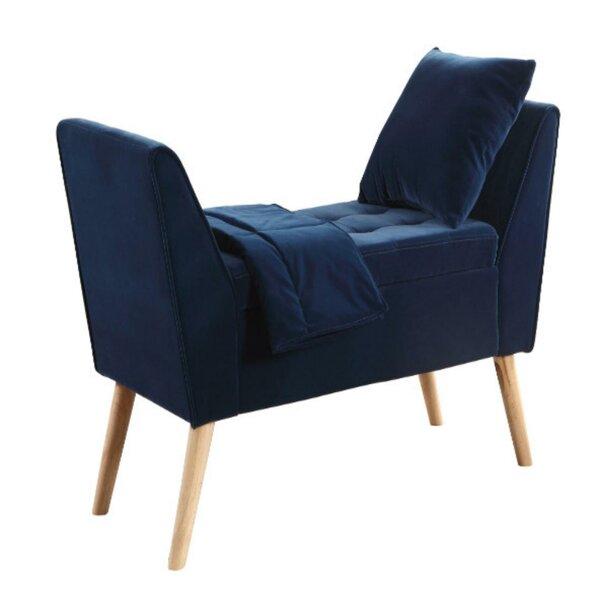 Rhianna Upholstered Flip Top Storage Bench by Corrigan Studio Corrigan Studio