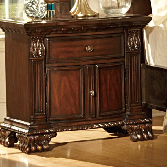Orleans 1 Drawer Nightstand By Woodhaven Hill