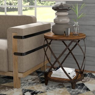 Inexpensive Eufaula End Table By Loon Peak