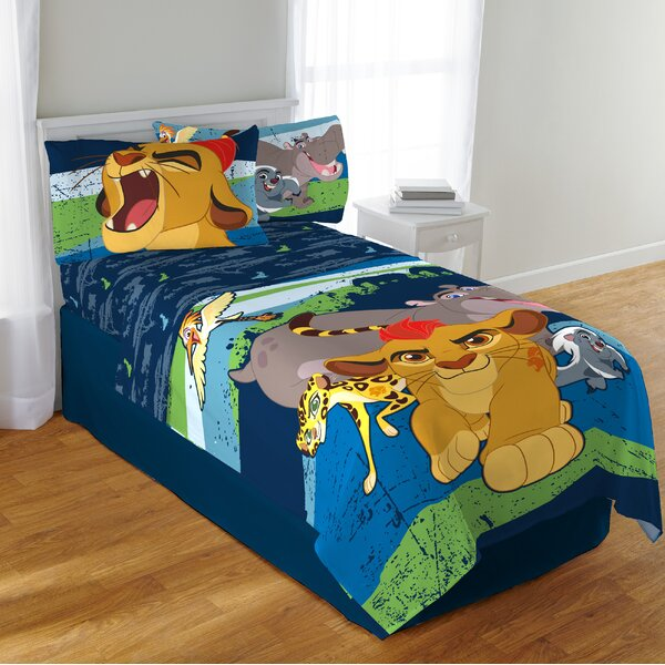 Disney Lion Guard Twin Sheet Set by Disney