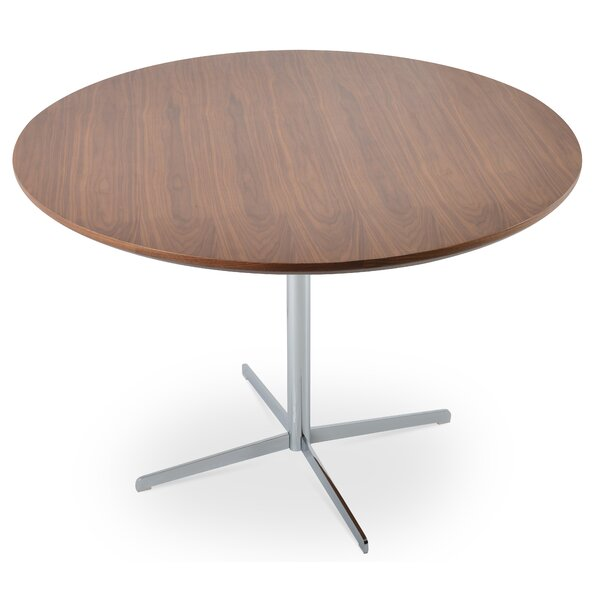 Kerveen Solid Wood Dining Table by Comm Office