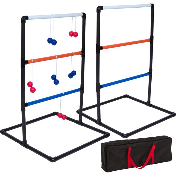 PVC Toss Game Ladder Ball Set (Set of 2) by Trademark Innovations