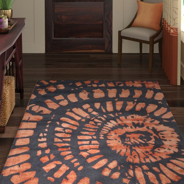 Camden Steel/Blue Area Rug by World Menagerie