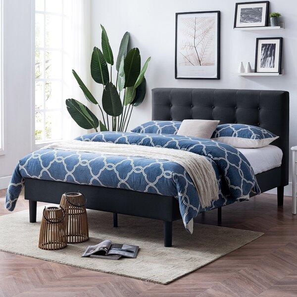 Sabine Queen Upholstered Platform Bed by Andover Mills