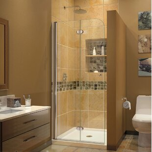 Aqua Fold 29 5 X 72 Folding Frameless Shower Door